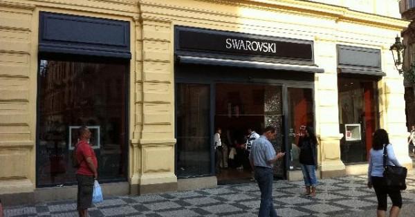 Swarovski – Praha 9f320780fb6