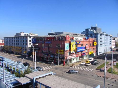 Nákupní centrum české budějovice